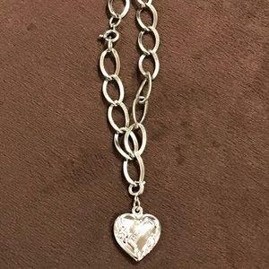 Cute Vintage Sterling Silver Charm Bracelet